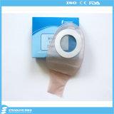 Duas partes do saco drenável adesivo da colostomia