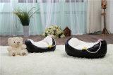 Bequemes Korbwiege-Art-Hundebett u. Haustier-Bett