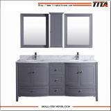 Vanité chinoise T9309-72g de salle de bains de modèle de courbe