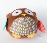 柔らかい詰められたプラシ天の球の鳥のおもちゃ