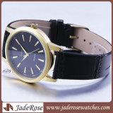 Relógios de couro do esporte dos quartos da faixa, relógio de pulso da forma das senhoras
