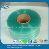 Het super Duidelijke Antistatische Groene Dubbele Geribbelde Plastic VinylGordijn van de Strook