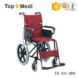 Cadeira de rodas manual da dobra fácil de alumínio com Footplate Taw805labj