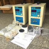 Four à induction portable haute fréquence pour 1 ~ 5kg d'or, argent, laiton