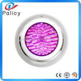 Drenaje del multicolor RGB LED de natación subacuática del barco Plug piscina Luces inalámbrica