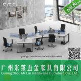 Ноги стола металла плакировкой крома офисной мебели
