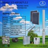 versenkbares Pumpen-System der Solarpumpen-2.2kw, System Gleichstrom-4inch
