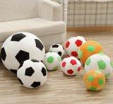 ボディサポートプラシ天の小さいサッカーボールのEmojiの枕
