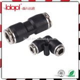 One - Touch Pneumatic Fittings with Black Body