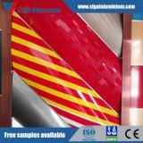 Hoja de aluminio coloreada PE/PVDF para la decoración del techo