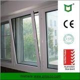 건축재료 강화 유리를 가진 알루미늄 단면도 경사 회전 Windows