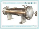 Tipo scambiatore di calore del tubo e delle coperture come dispositivo di raffreddamento industriale di /Chemical dell'olio