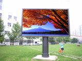 Напольное видеоий полного цвета P10 СИД рекламируя индикацию экрана