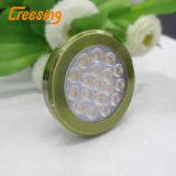 Luz plástica del punto del bronce LED
