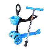 2 in 1 motorino di seduta del bambino con la rotella 3