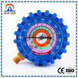 La alta precisión modificada para requisitos particulares fabricante chino refrigera el manómetro de la presión