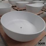 Bañera de piedra superficial sólida de acrílico redonda de las mercancías sanitarias (BT1701033)