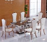 4 Vormen 10 van ringen Marmeren Eettafel Seater voor Banket