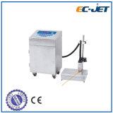 Imprimante à jet d'encre continue de pente industrielle automatique fiable