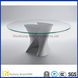 Peças de mobiliário de vidro, 3-12mm Clear / Processed / Shaped / Edge-Worked Furniture Shelf Glass
