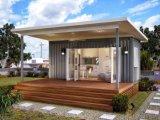20 pés pré-fabricaram a casa modular do contentor para Familary