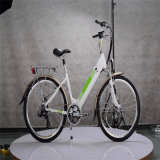 36V 250W 숙녀를 위한 10ah에 의하여 숨겨지는 건전지 도로 전기 자전거