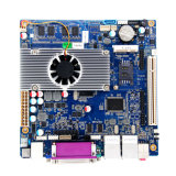 Motherboard van de fabrikant met het Atoom van Intel cpu/8*USB/2* RJ45 Port/6*COM/1*Lpt