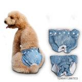 Jeans Bowtie Dots Lace Pet Clothes Pantalons pour femmes chiennes