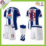 Chemises blanc en gros bon marché d'uniforme du football du Jersey du football