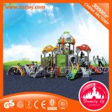 Campo de jogos de jogo plástico do equipamento ao ar livre das crianças