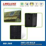 Lumière à la maison solaire portative avec le système d'alimentation solaire de la batterie Lm-366 de 12V 5ah