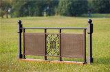 Balcón de acero galvanizado decorativo de alta calidad 1 que cerca con barandilla de la aleación de Haohan Alluminum