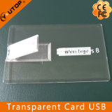 Carte transparente personnalisée USB Pendrive (YT-3101-02) de cadeau de promotion
