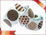 Collants adhésifs estampés de code barres pour les chaussures et le vêtement