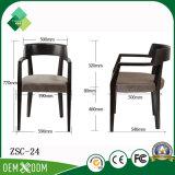 新しいデザインレストラン(ZSC-24)のための快適な様式のホテルアーム椅子