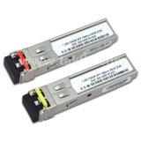 módulo de fibra óptica 1.25g los 80km CWDM SFP del transmisor-receptor 1270-1610nm