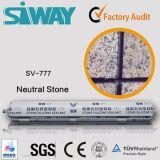 Las muestras libres impermeabilizan el sellante de piedra neutral del silicón para la junta de piedra