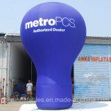 イベントのための大きい広告の膨脹可能な屋根の上の地上の気球