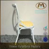 地方の十字の背部椅子型の白
