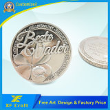 Monete su ordinazione professionali dei soldi del ricordo del metallo nella fabbrica della Cina (XF-CO24)