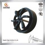 Fabbrica del pezzo fuso di sabbia del ferro dell'OEM della fonderia del pezzo fuso del ghisa grigio della Cina per la puleggia della rotella