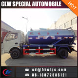 Dongfeng 6m3 진공 하수 오물 트럭 진공 펌프 유조 트럭