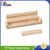 De gecarboniseerde Doos van de Pen van het Bamboe zonder Pen