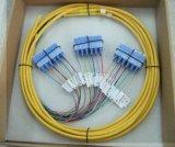 De optische Kabel van de Optische Vezel van het Verlies van de Toevoeging van het Koord van het Flard van de Straal Lage