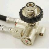aparato con gran consumo de aire Scba del cilindro de la fibra del carbón 6.8L