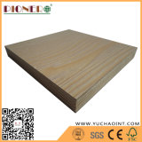 Madera contrachapada laminada melamina llena de la base de la madera dura