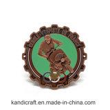 Pièce de monnaie faite sur commande de souvenir d'or de récompense de la Chine de promotion