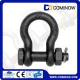 G2130 wir Typ Kohlenstoffstahl-Anker-Fessel mit Sicherheits-Schraube/Absinken schmiedete die galvanisierte Bogen-Fessel