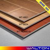 azulejo de madera de cerámica de la porcelana de la mirada de los azulejos de suelo del último diseño 600X600