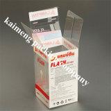 ハンドル(入れびん)が付いている卸し売り昇進の折るパッケージの明確なプラスチック入れびんボックス